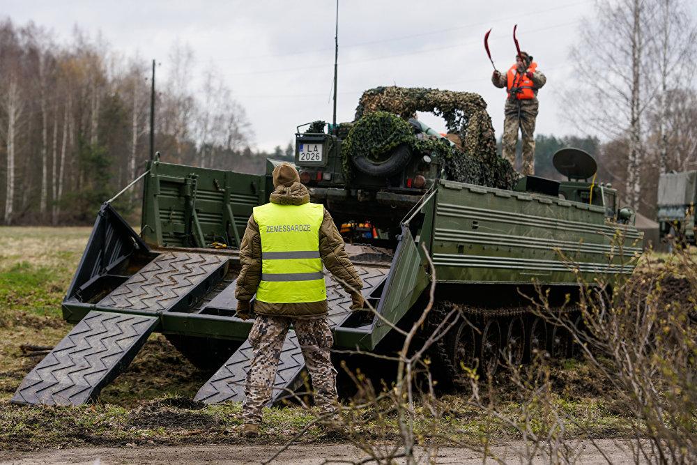 Международные военные учения Summer Shield XIV в Латвии