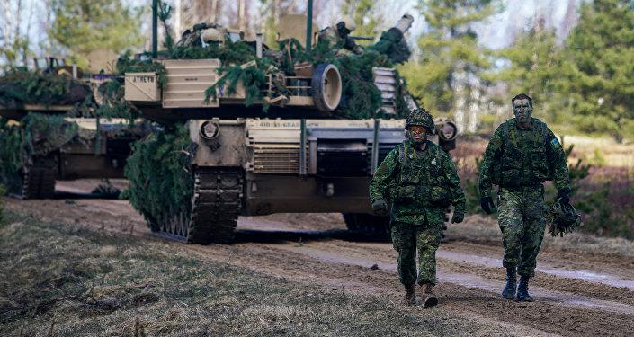 Международные военные учения Summer Shield XIV в Латвии, архивное фото