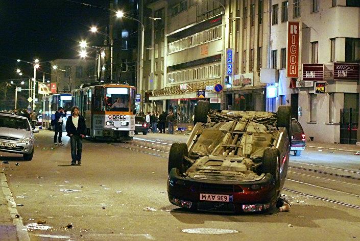 События Бронзовой ночи в Таллинне
