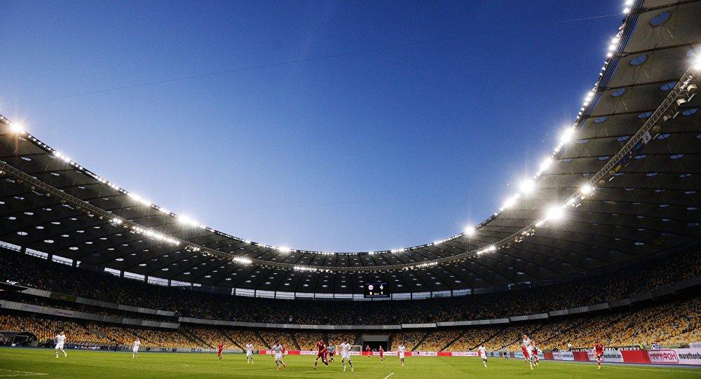 Стадион в Киеве, архивное фото