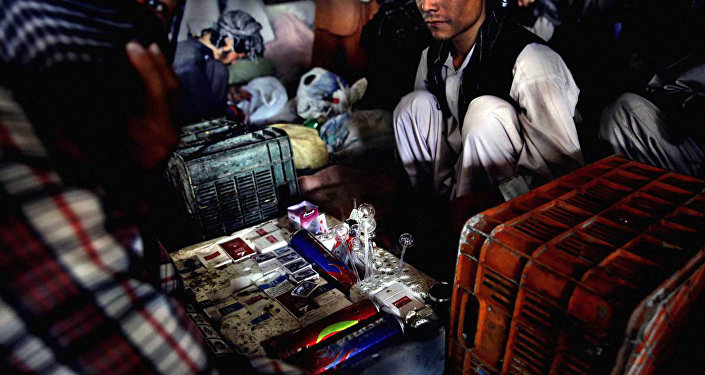 Распространение наркотиков. Афганистан