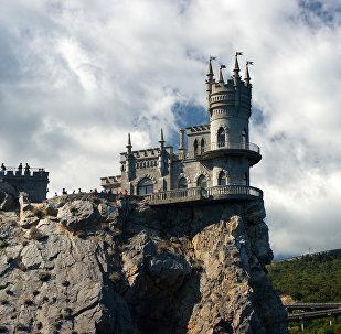 Bezdelīgas ligzda Krimā. Foto no arhīva