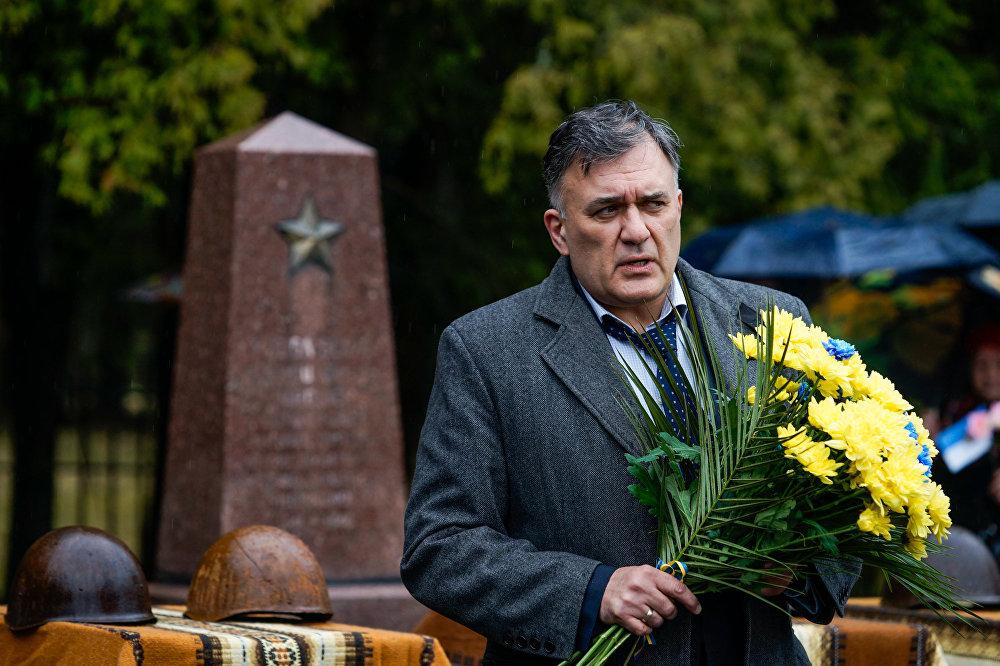 Представитель посольства Украины советник Олег Горбенко
