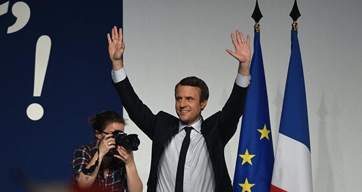 Francijas prezidenta amata kandidāts Emanuels Makrons