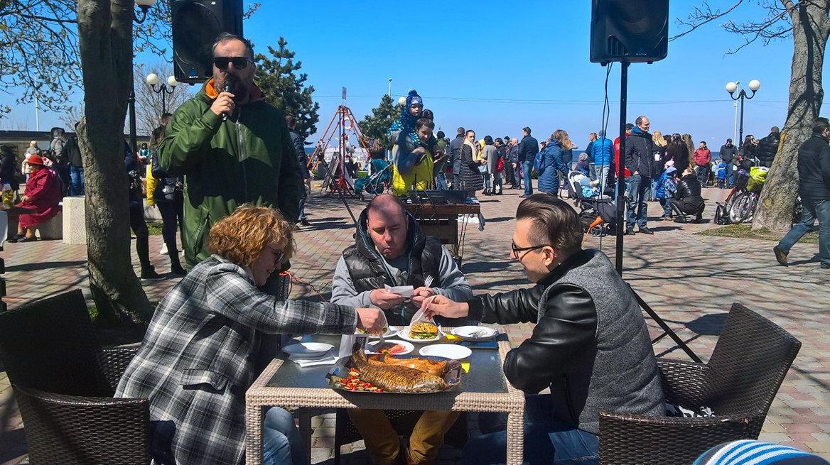 Фестиваль еды в Зеленоградске