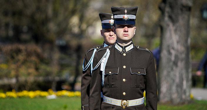 Солдаты Роты почётного караула