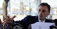 Арнис Кактиньш, руководитель Центра исследований общественного мнения (SKDS), архивное фото