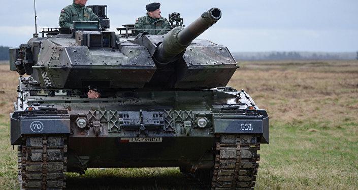 В Польше размещен батальон НАТО