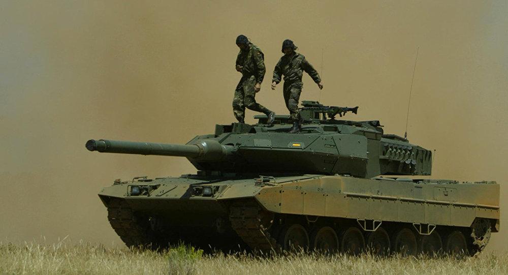Танк испанской армии Leopard 2E