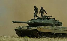 Spānijas armijas tanks Leopard 2E