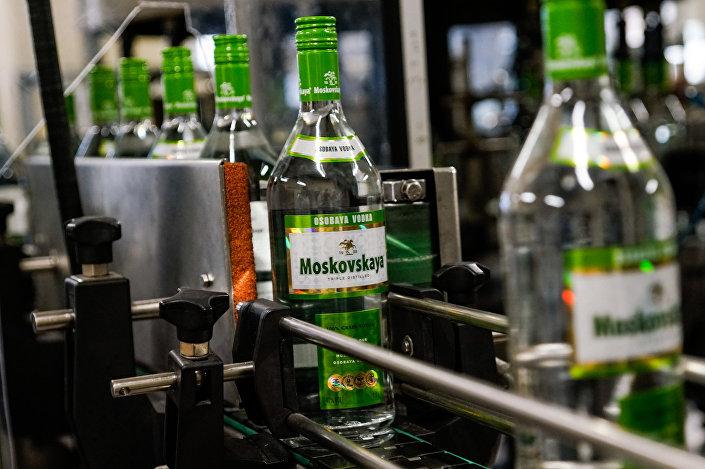 Знаменитая Московская водка производится только в Латвии