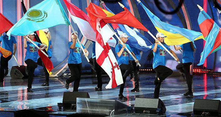 Konkursa Jaunais vilnis 2013 atklāšana Jūrmalā