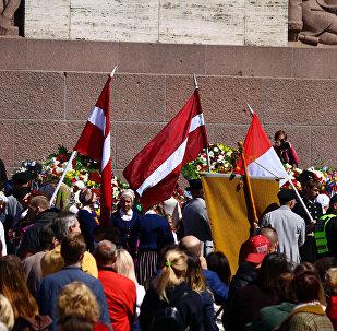 Праздничное мероприятие в День восстановления независимости Латвийской Республики