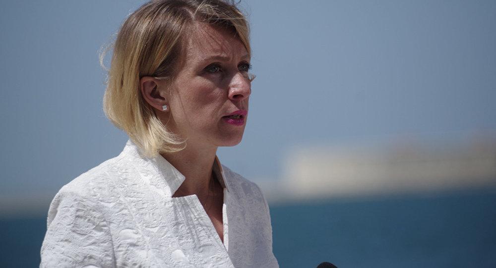 ĀM oficiālā pārstāve Marija Zaharova