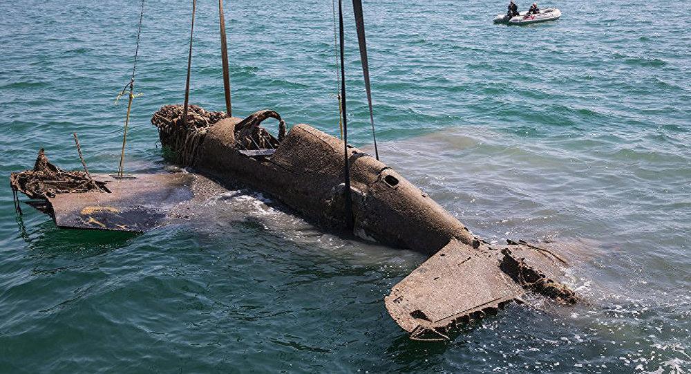 Операция по подъему Р-40 со дна Керченского пролива