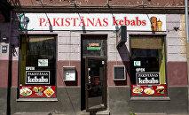 Rīgas ātrās ēdināšanas restorāns Pakistānas kebabs