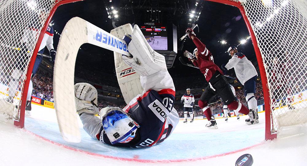 Чемпионат мира по хоккею Латвия - Словакия