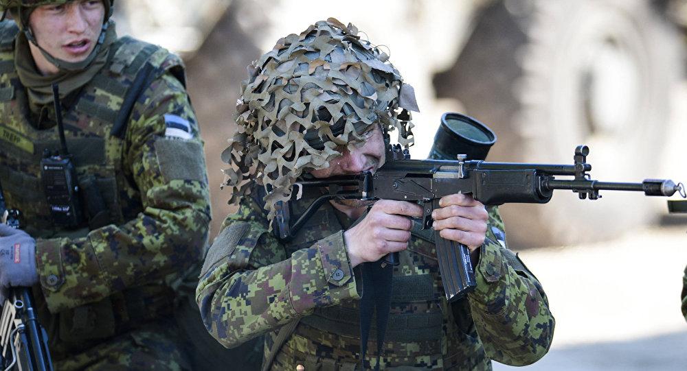 NATO mācībās Igaunijā Spring storm