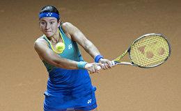 Латвийская теннисистка Анастасия Севастова, архивное фото