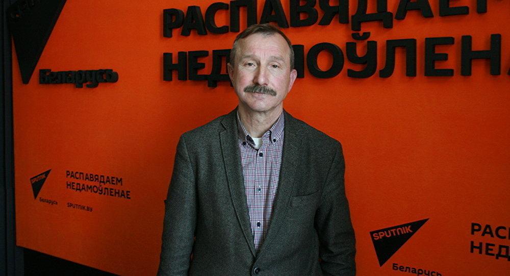 Доцент исторического факультета БГУ Кузьма Козак