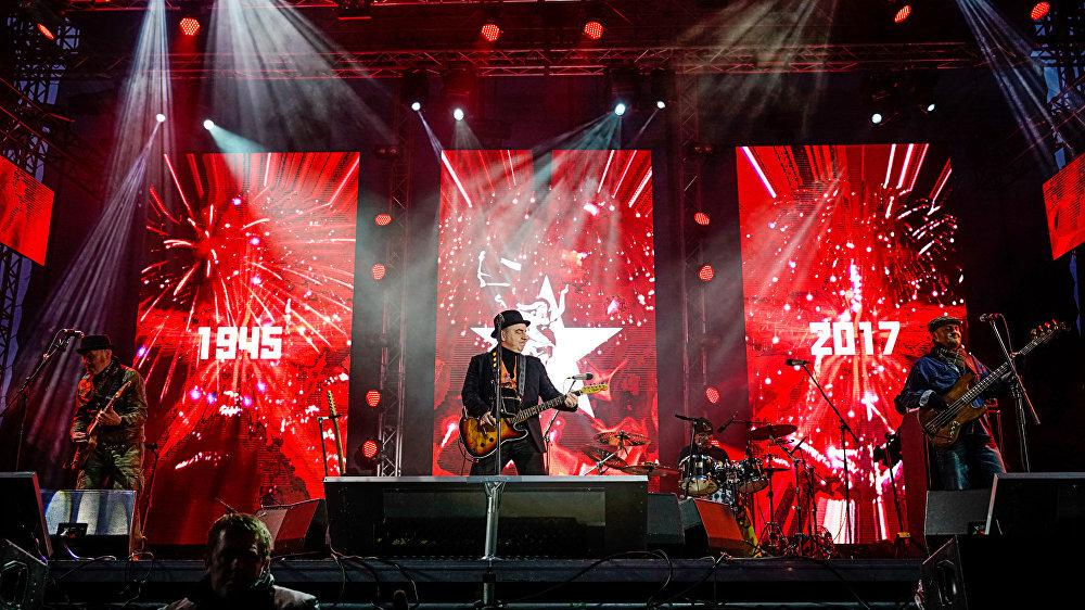 Группа Чайф выступает в Риге 9 мая в Парке Победы