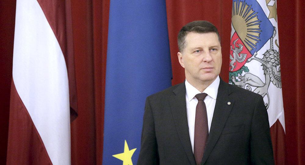 Президент Латвии Раймондс Вейонис. Архивное фото