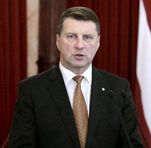 Президент Латвии Раймондс Вейонис