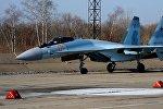Новый российский истребитель Су-35С