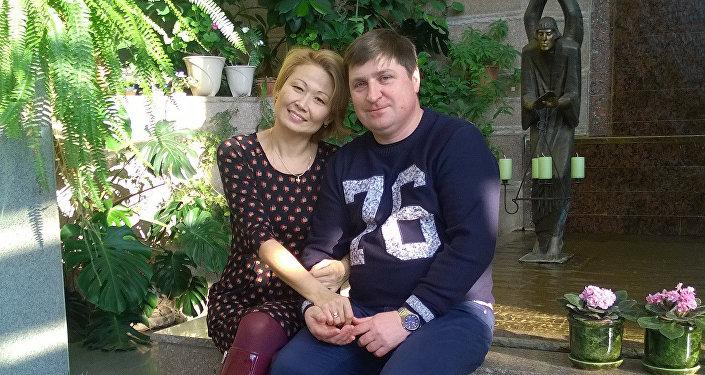 Andrejs Ivaņņikovs ar ģimeni