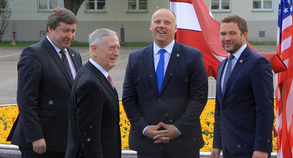 Министр обороны стран Балтии и США на встрече в Вильнюсе