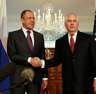 Lavrova un Tilersona tikšanās ASV. Foto no arhīva