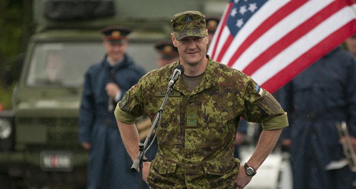 Igaunijas armijas karavīrs