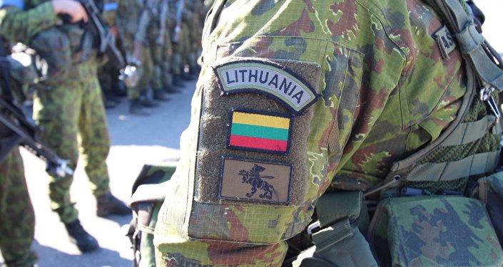 Lietuvas armijas karavīrs