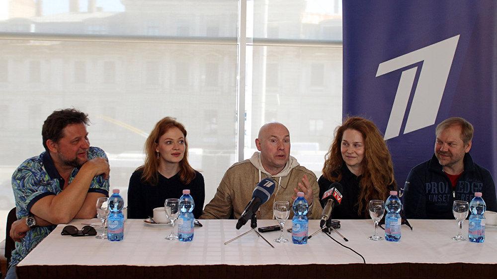 Пресс-конференция накануне спектакля Тартюф московского театра на Малой Бронной