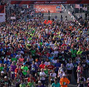 Rīgā startēja ikgadējs Lattelecom maratons