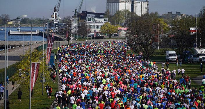 В Риге стартовал ежегодный марафон Lattelecom