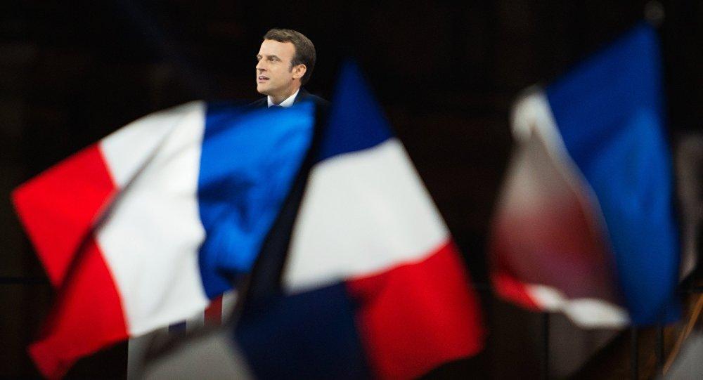 Избранный президент Франции Эммануэль Макрон, архивное фото