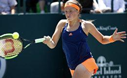 Латвийская теннисистка Елена Остапенко