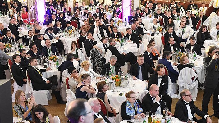 Гости конкурса Sommelier EM 2017 в Вене, Австрия