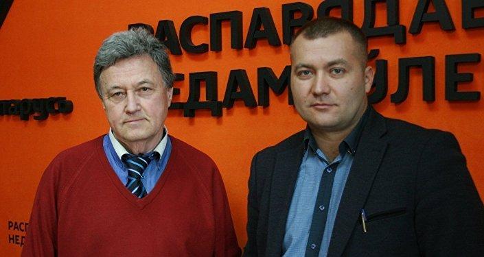 Валентин Цехмейстер и Филипп Гулый