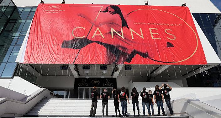 Официальный плакат 70-го Каннского фестиваля