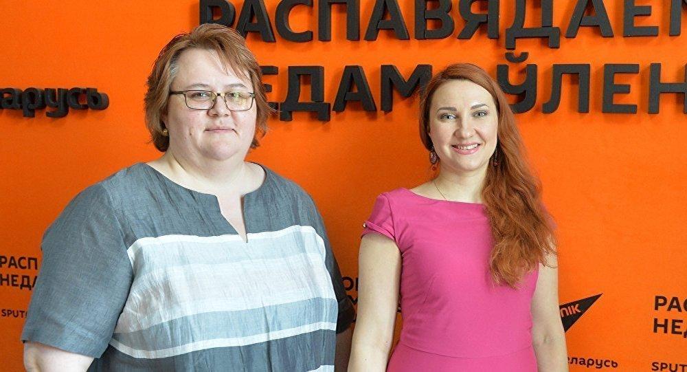 Ирина Альховка и Оксана Мясникова