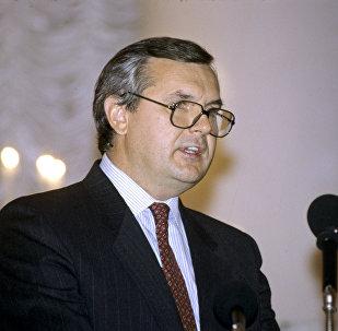 Bijušais Latvijas ārlietu ministrs Jānis Jurkāns