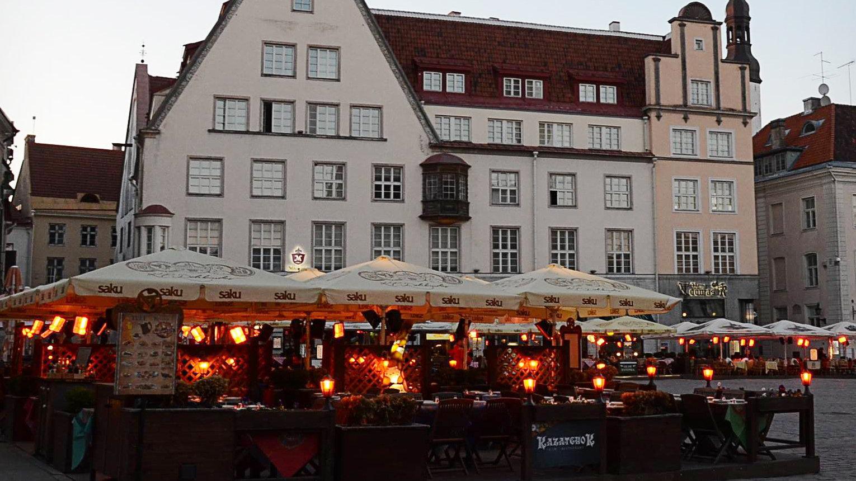 Кафе в Старом городе , Таллин
