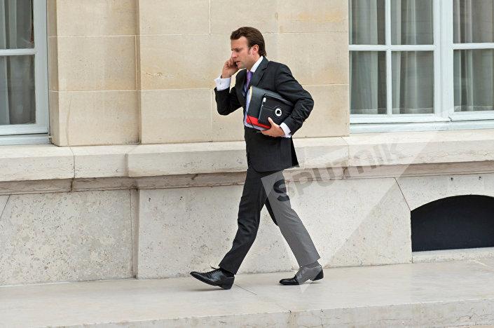 Эммануэль Макрон, новоизбранный президент Франции