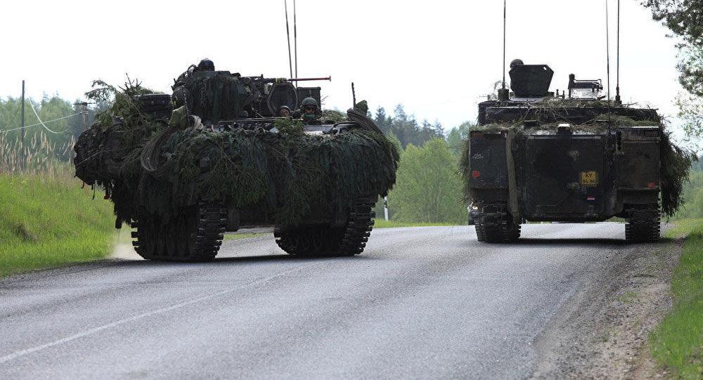 Войска НАТО за некоторое количество дней учений вЭстонии потеряли уже три автомобиля