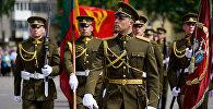 Парад Литовской армии в Паневежисе