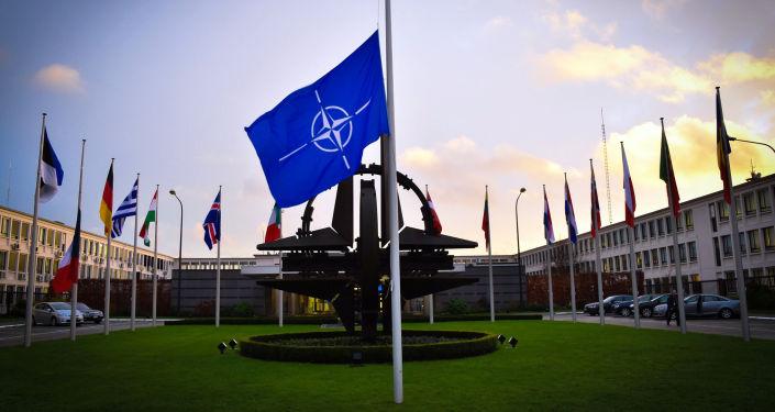 NATO štāba mītne Briselē. Foto no arhīva