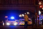 Pēc sprādziena Mančesterā Lielbritānijā