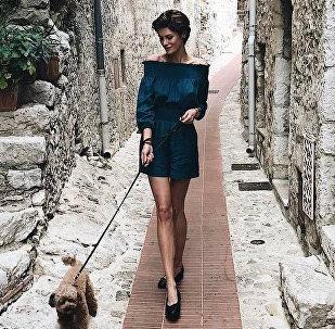 Российская модель Тамара Копалейшвили